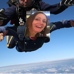Sarah's Skydive for STARS